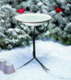 Heated Bird Bath with Stand.