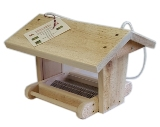 PYJR Canadian Junior Chalet Cedar Bird Feeder