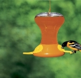 Fliteline Jr. 30 oz Oriole Feeder w/Active Bee Guards