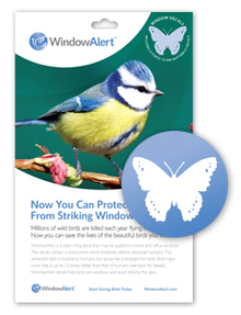 Butterfly Window Alert (4 per pkg.)
