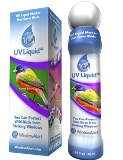 UV liquid to prevent window collisions